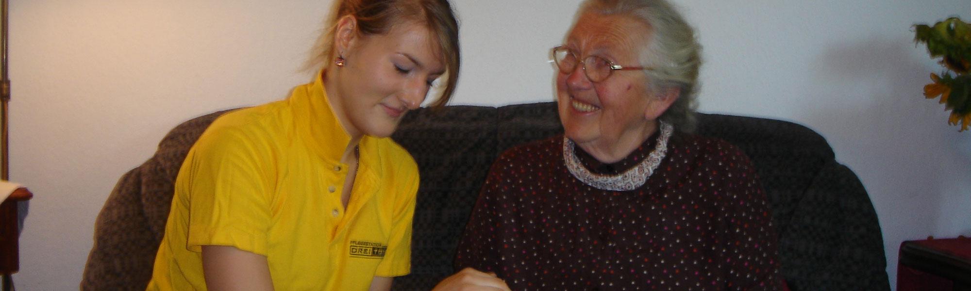 Pflegedienst Drei Töchter Startseitenbanner 3